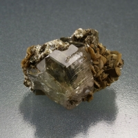 Apatite On Mica & Siderite