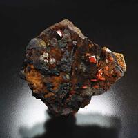 Wulfenite With Cerussite
