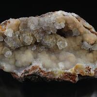 Smithsonite With Calcite & Adamite