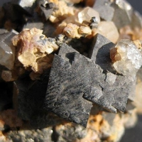 Arsenopyrite & Calcite