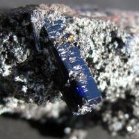 Azurite With Cerussite & Aurichalcite