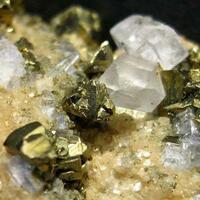 Chalcopyrite Fluorite & Quartz