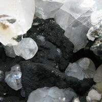 Julgoldite On Calcite