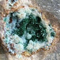 Malachite Chrysocolla & Calcite