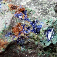 Tennantite Azurite & Malachite