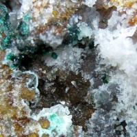 Bayldonite On Quartz