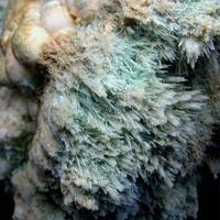 Gypsum & Calcite On Aragonite