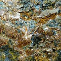 Oxiberaunite & Cacoxenite