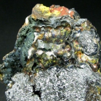 Pyrolusite With Limonite