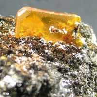 Wulfenite With Cerussite