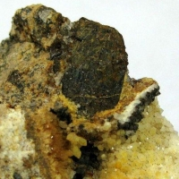 Armenite In Quartz