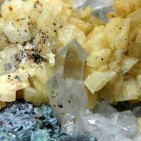 Bournonite Sphalerite Dolomite & Quartz