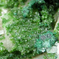 Calcite With Conichalcite & Cuprian Adamite
