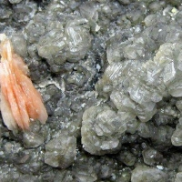 Cerussite With Baryte