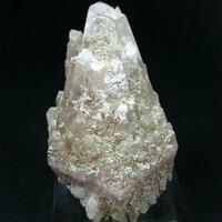 Cinnabar In Calcite