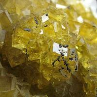 Fluorite & Calcite With Marcasite
