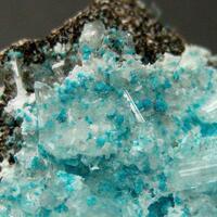 Gypsum With Serpierite