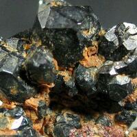 Hematite With Cassiterite & Yazganite