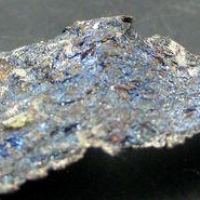 Native Silver With Bornite