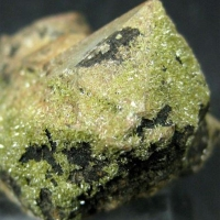 Pyromorphite On Quartz