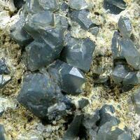 Quartz With Magnesio-riebeckite Inclusions