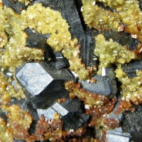Sphalerite With Pyrrhotite Pyrite & Siderite