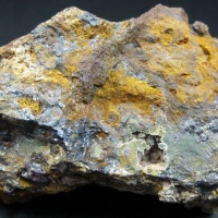 Strengite With Triplite In Limonite