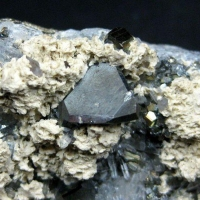 Tetrahedrite & Dolomite On Quartz & Pyrite