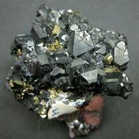 Tetrahedrite Bournonite & Pyrite
