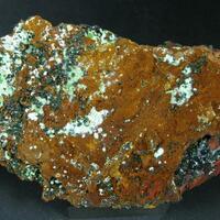 Agardite With Cuprian Adamite Conichalcite & Azurite