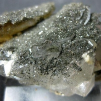 Arsenopyrite In Quartz
