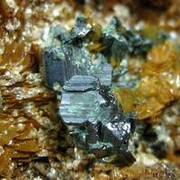 Bournonite With Siderite & Sericite