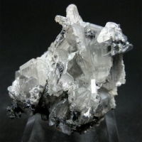 Cerussite With Galena
