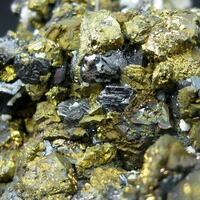 Chalcopyrite With Bournonite & Sphalerite
