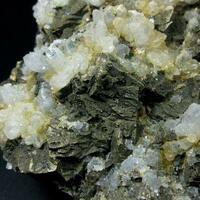 Chalcopyrite With Quartz & Sphalerite