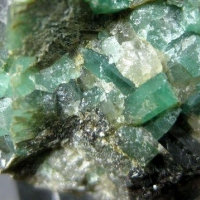 Emerald With Biotite
