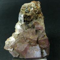 Fluorite With Plattnerite Conichalcite Dolomite & Calcite