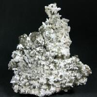 Quartz Var Amethyst & Calcite
