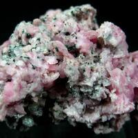 Rhodochrosite Fluorite Sphalerite & Pyrite