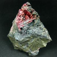 Rhodonite Clinochlore Spessartine Actinolite & Hematite