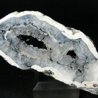 Agate With Bitumen