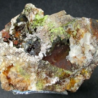 Beudantite On Baryte