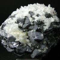 Galena Bournonite Seligmannite & Quartz