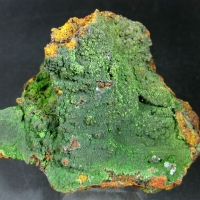 Chenevixite On Conichalcite