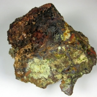 Chenevixite With Jarosite