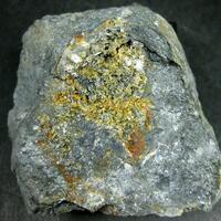 Sénarmontite & Kermesite With Native Antimony