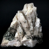 Marcasite On Calcite