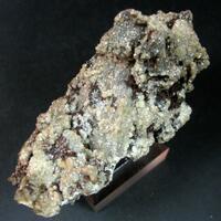 Native Copper On Dolomite