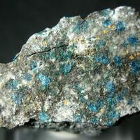 Gold With Pseudoboleite & Paratacamite