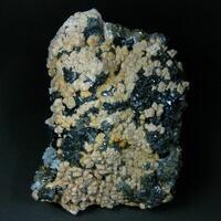 Tetrahedrite Rhodochrosite & Bournonite